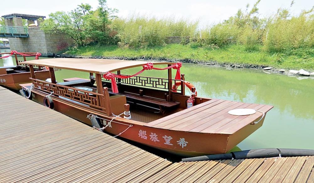 冬山河船旅