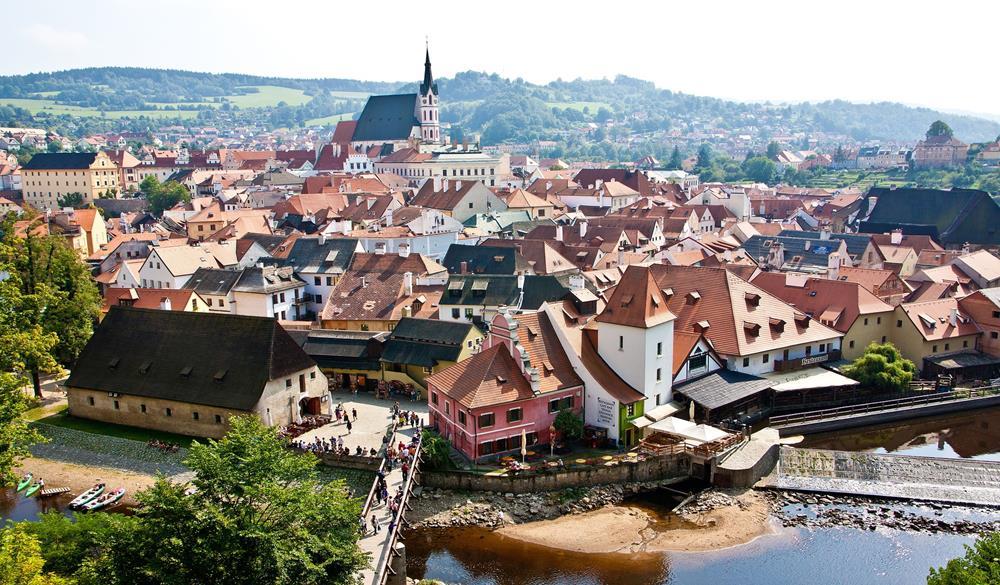 庫倫洛夫, 捷克