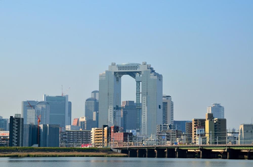 新梅田city空中花園