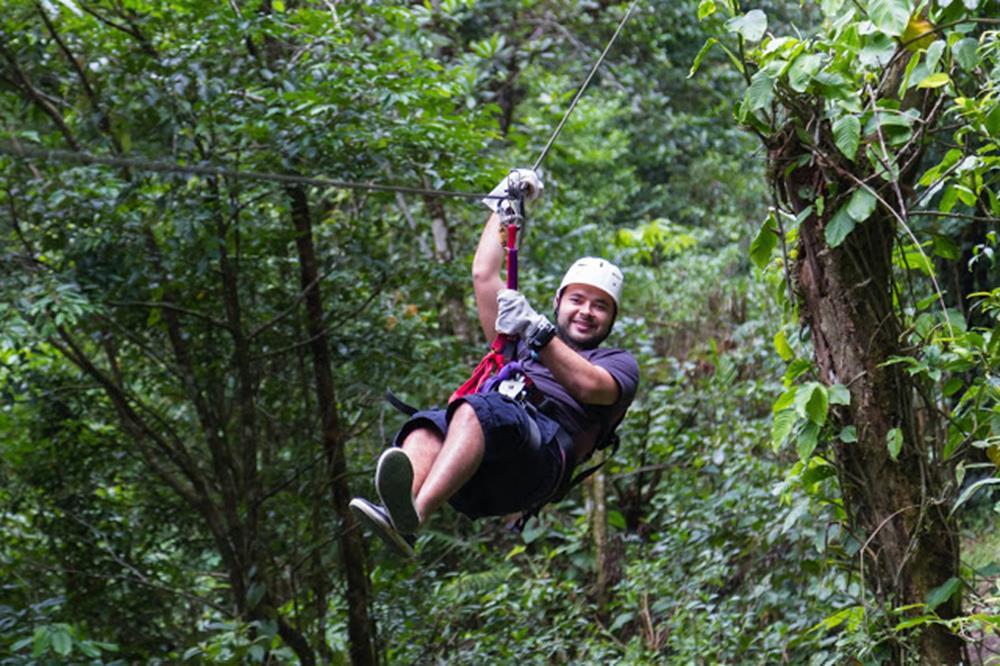 叢林飛索體驗
