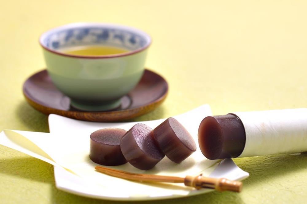 黑豆茶羊羹