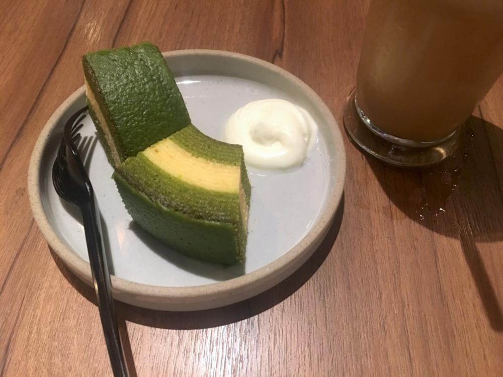 京ばあむ抹茶豆乳年輪蛋糕