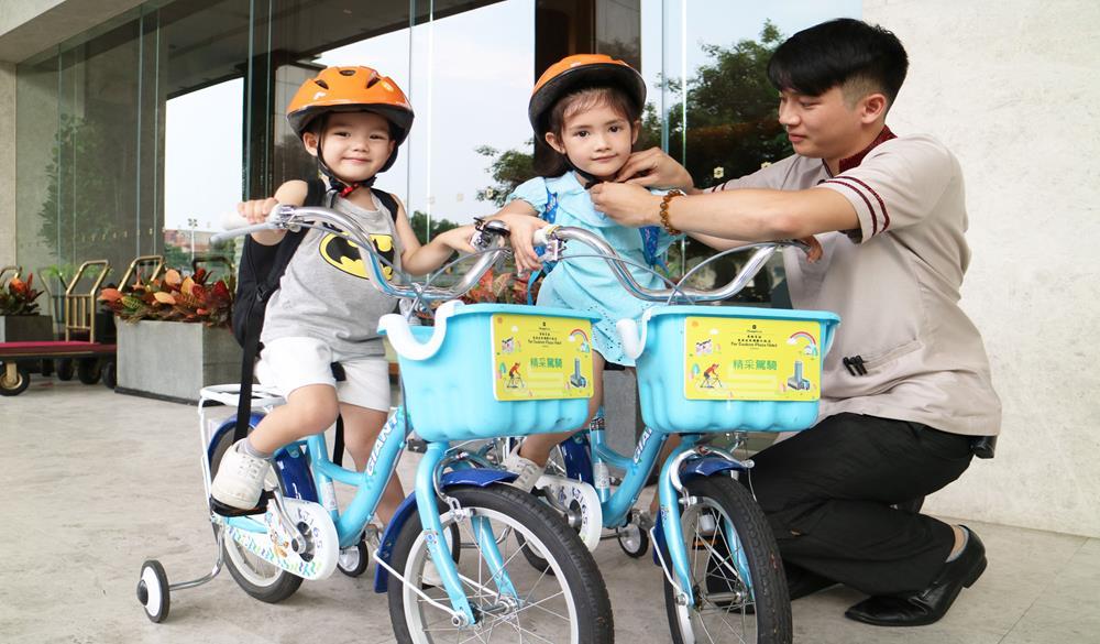 兒童「腳踏車免費租借」