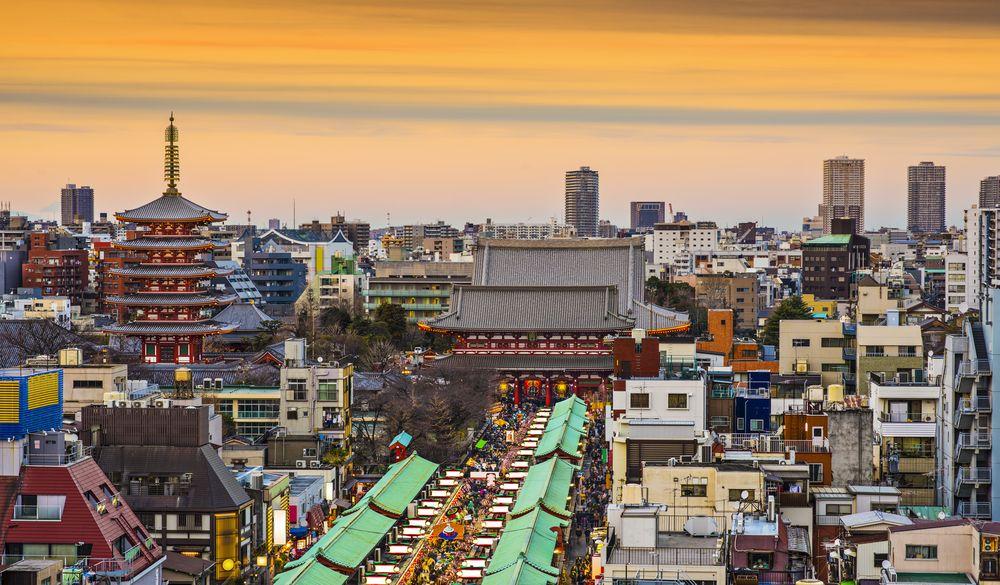 雷門、淺草寺、東京晴空塔