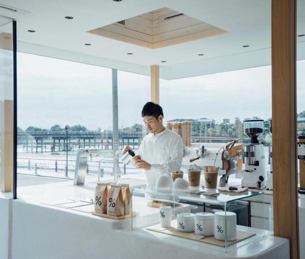 % Arabica咖啡店