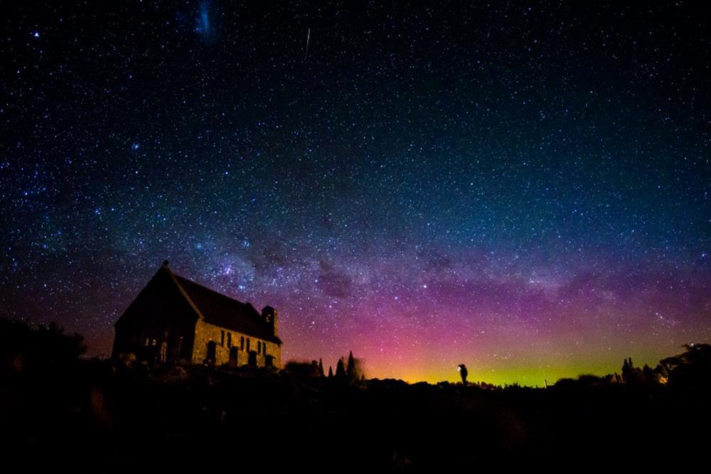 紐西蘭,蒂卡波湖(Lake Tekapo)