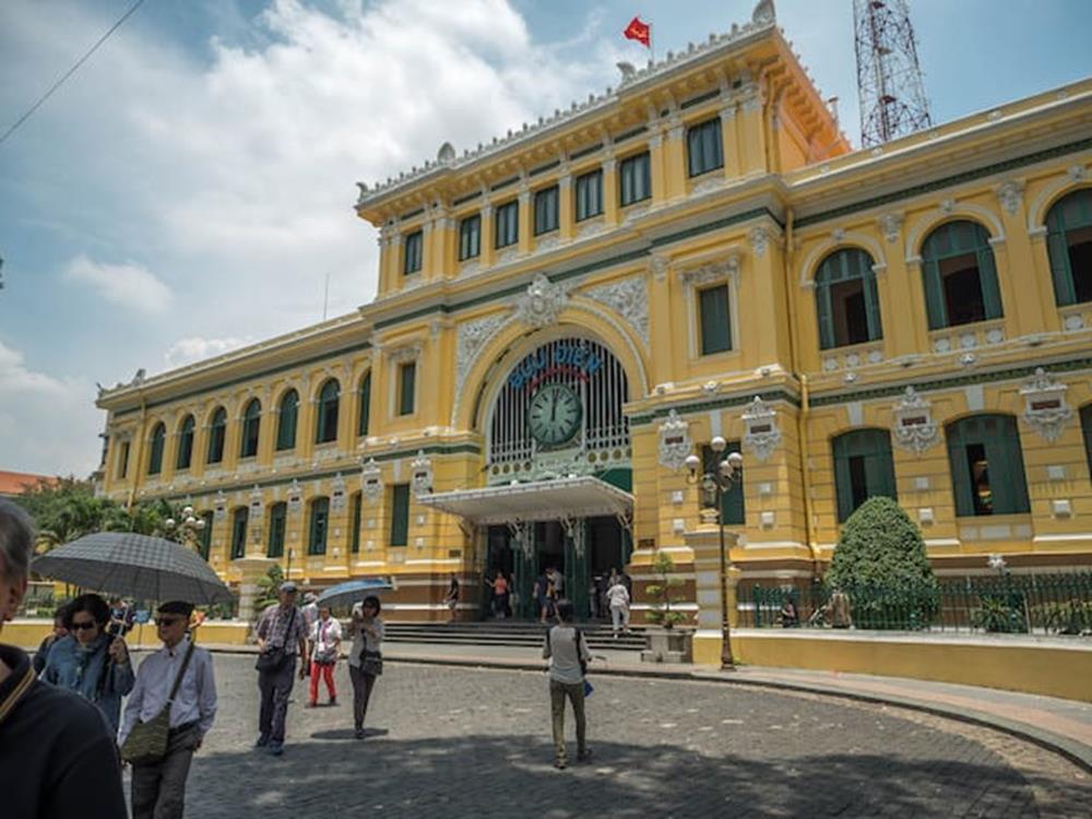 胡志明市中央郵局