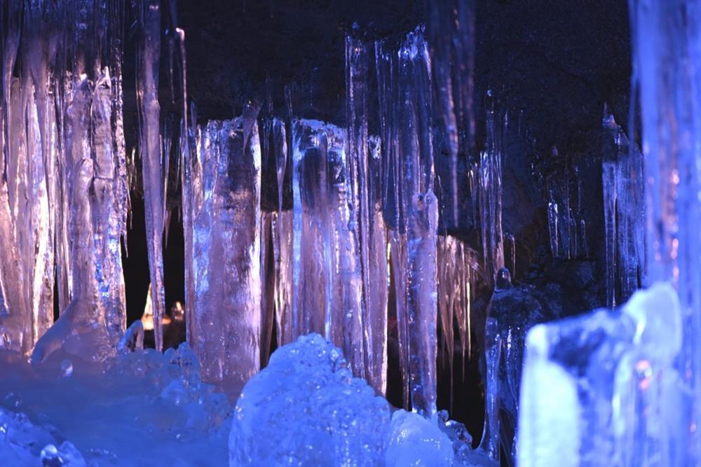 富岳風穴+鳴沢冰穴