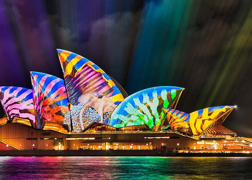 【2019 Vivid Sydney繽紛雪梨燈光節】活動時間、景點行程、住宿懶人包!