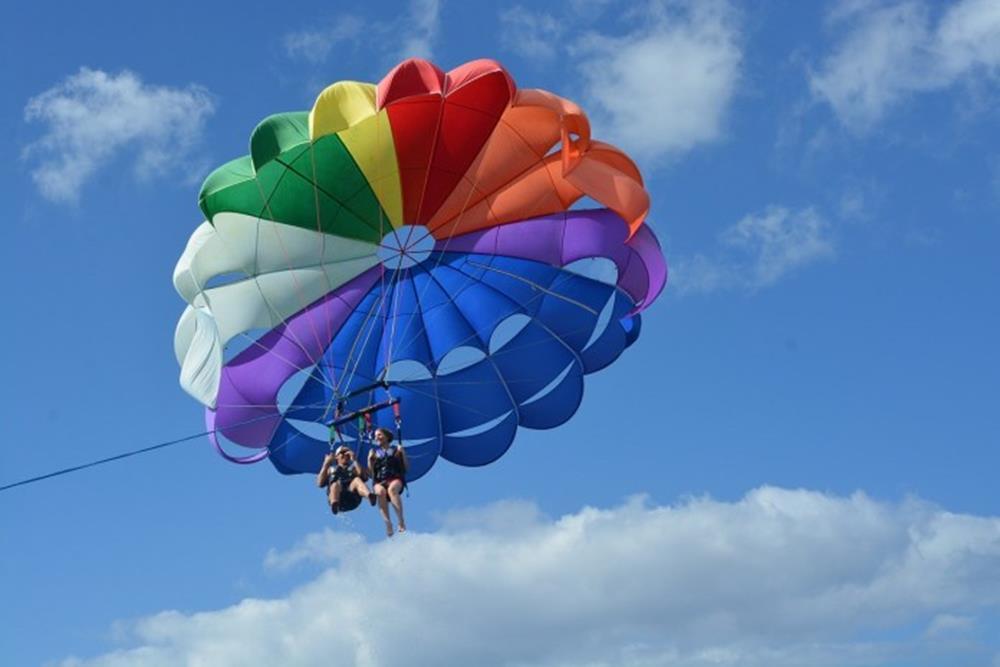 拖曳傘體驗