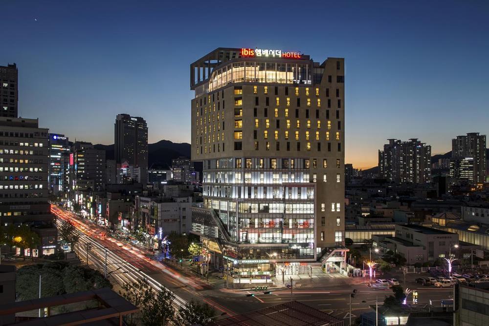 宜必思釜山市中心大使酒店