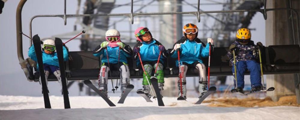 韓國-奧麗山莊滑雪度假村-滑雪纜車