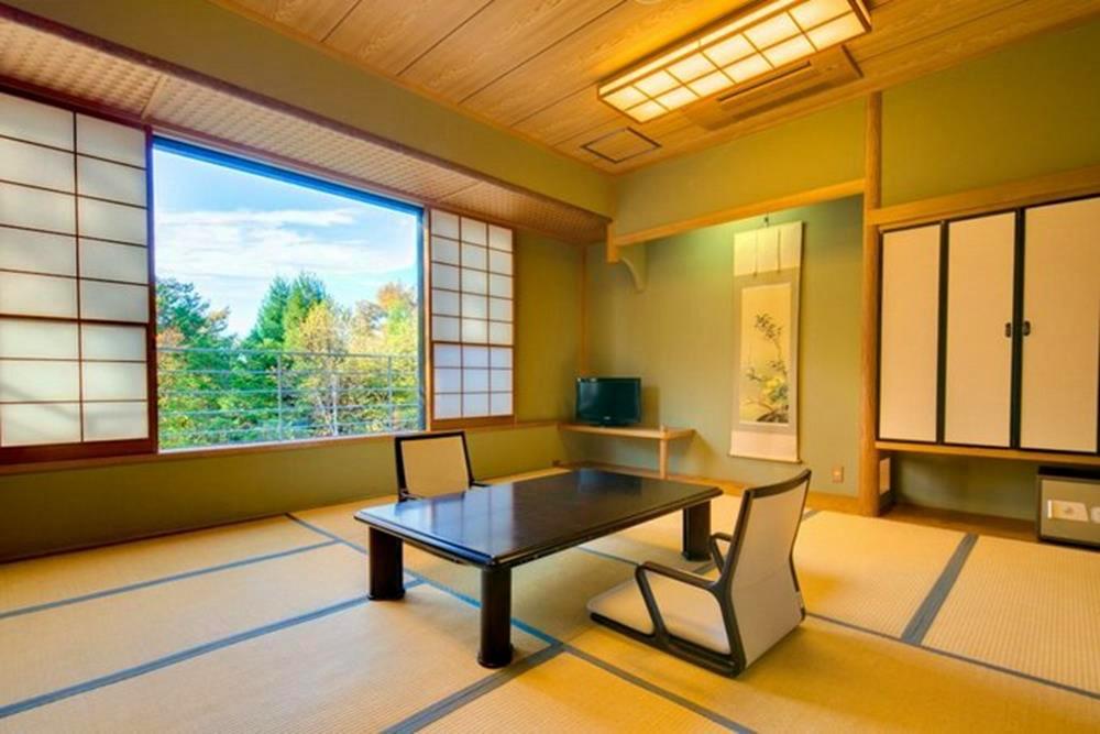 富士山-山中湖-秀山莊-日式客房