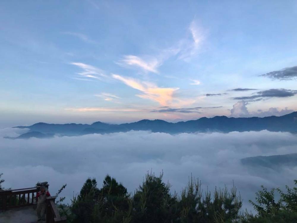 新竹-景點-觀霧遊憩區雲海