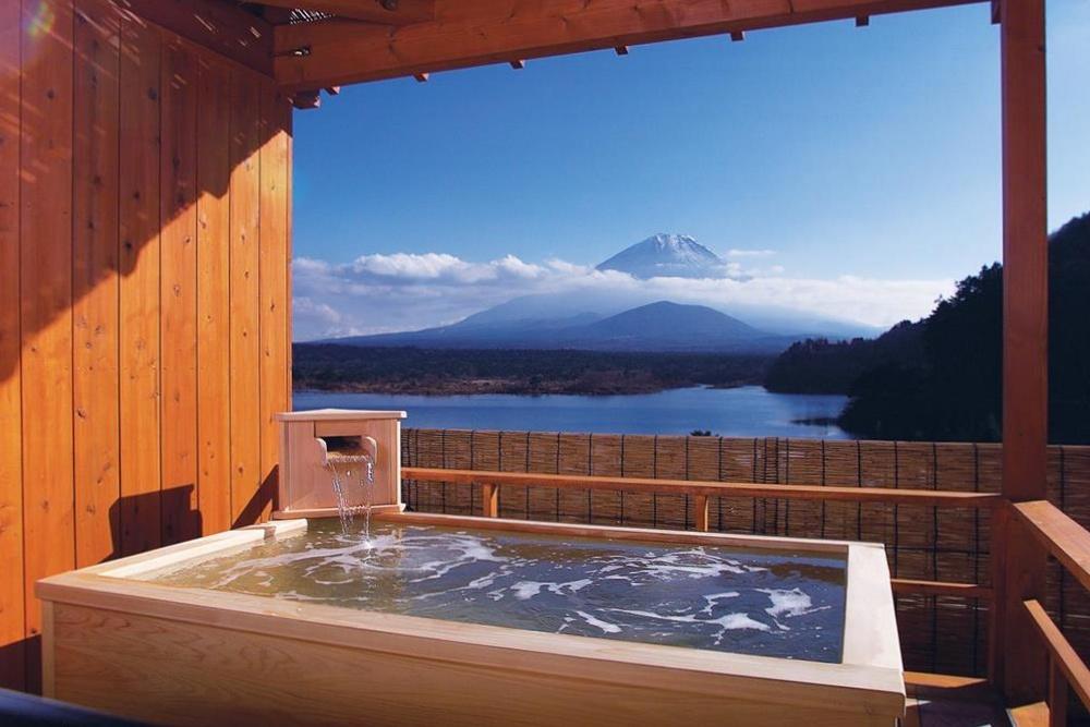 富士山-精進湖-住宿-山田屋-精進湖景
