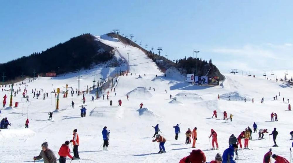 韓國-芝山度假村滑雪場-滑雪道