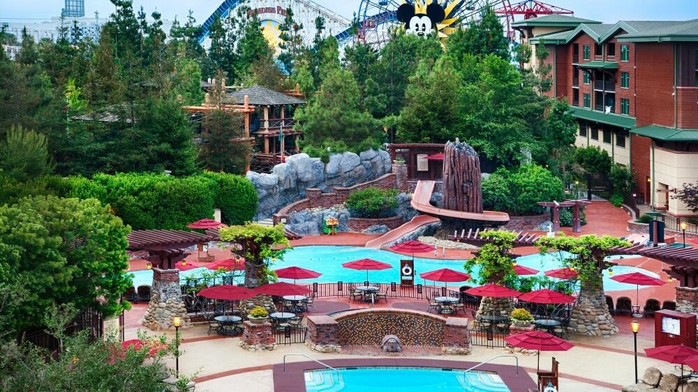 美國-迪士尼-住宿-加州迪士尼大酒店2