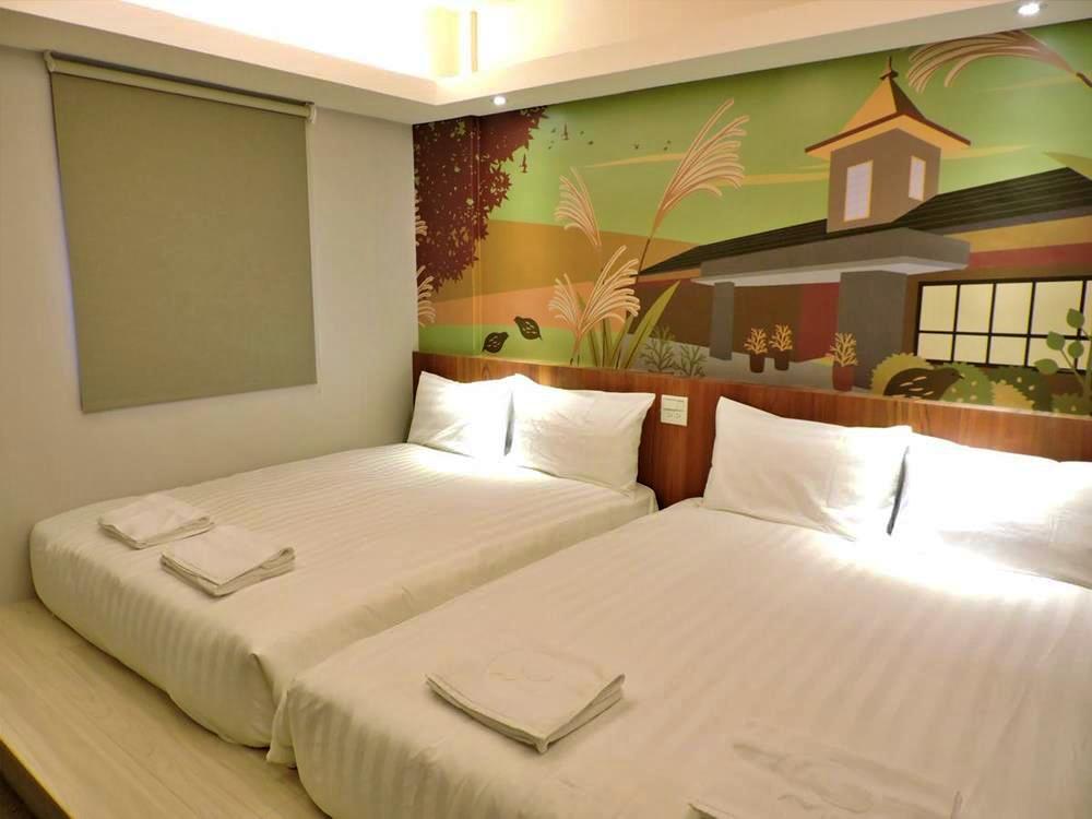 花蓮-飯店-回然慢時旅居-標準家庭房