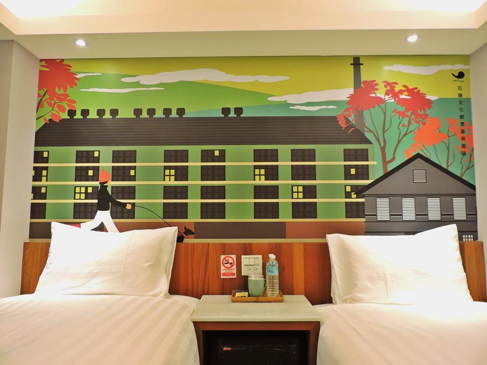 花蓮-飯店-回然慢時旅居-雙床房