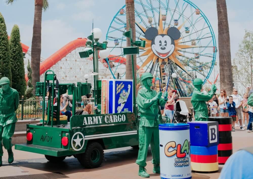 美國-加州-迪士尼-玩具總動員