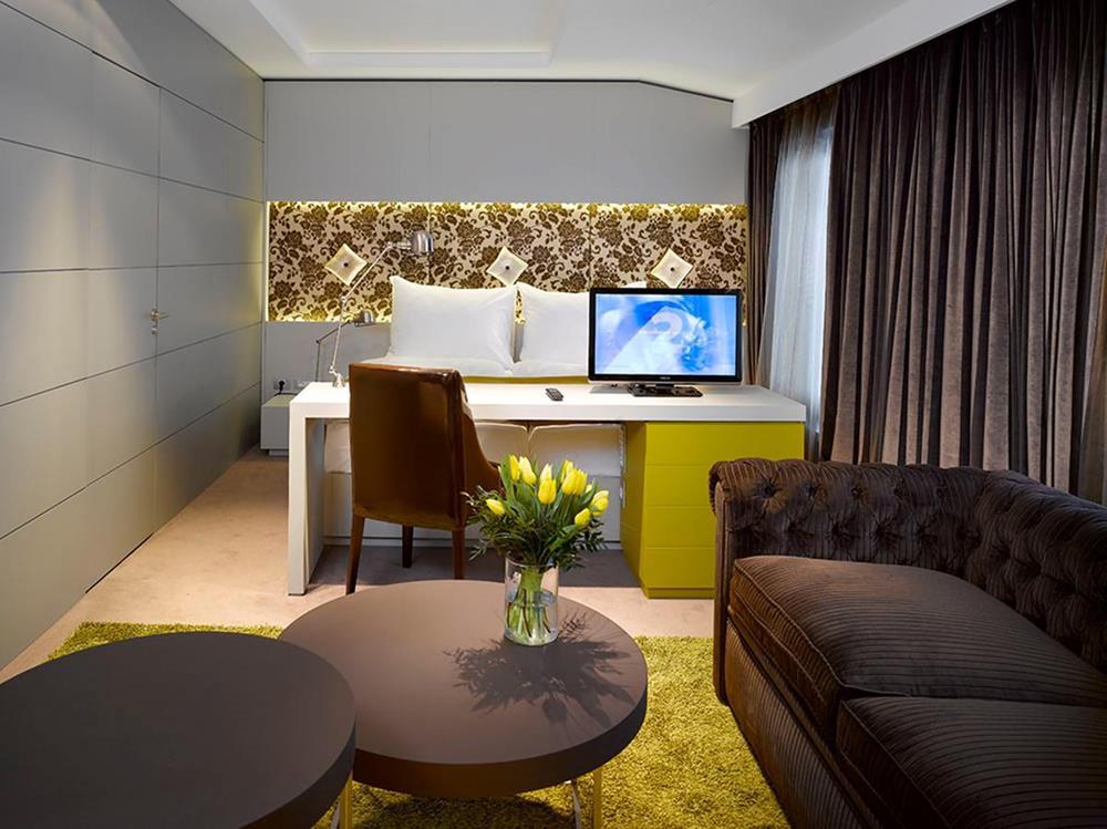 布拉格-住宿-布拉格優納酒店-臥室