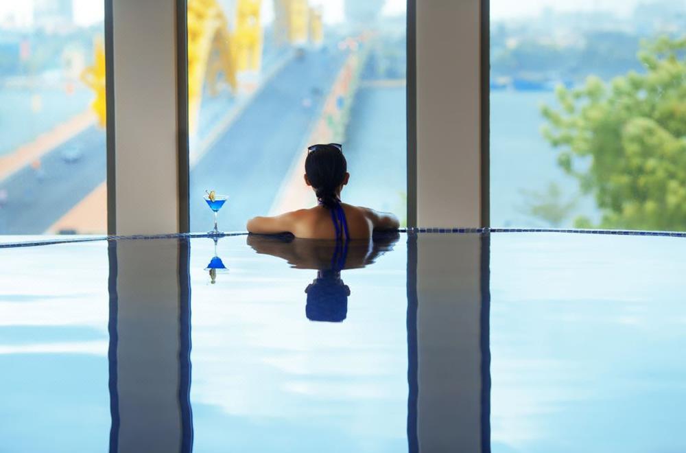 峴港-住宿-推薦-凡達酒店-泳池