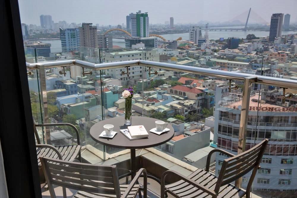 峴港-住宿-推薦-峴港桑諾瓦酒店-房間露台
