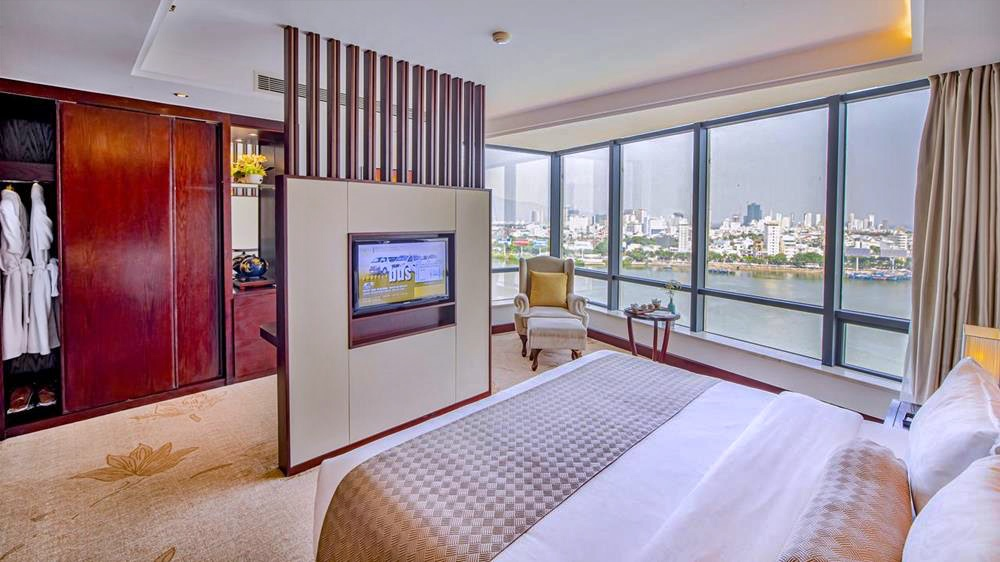 峴港-住宿-推薦-輝煌酒店-雙人房