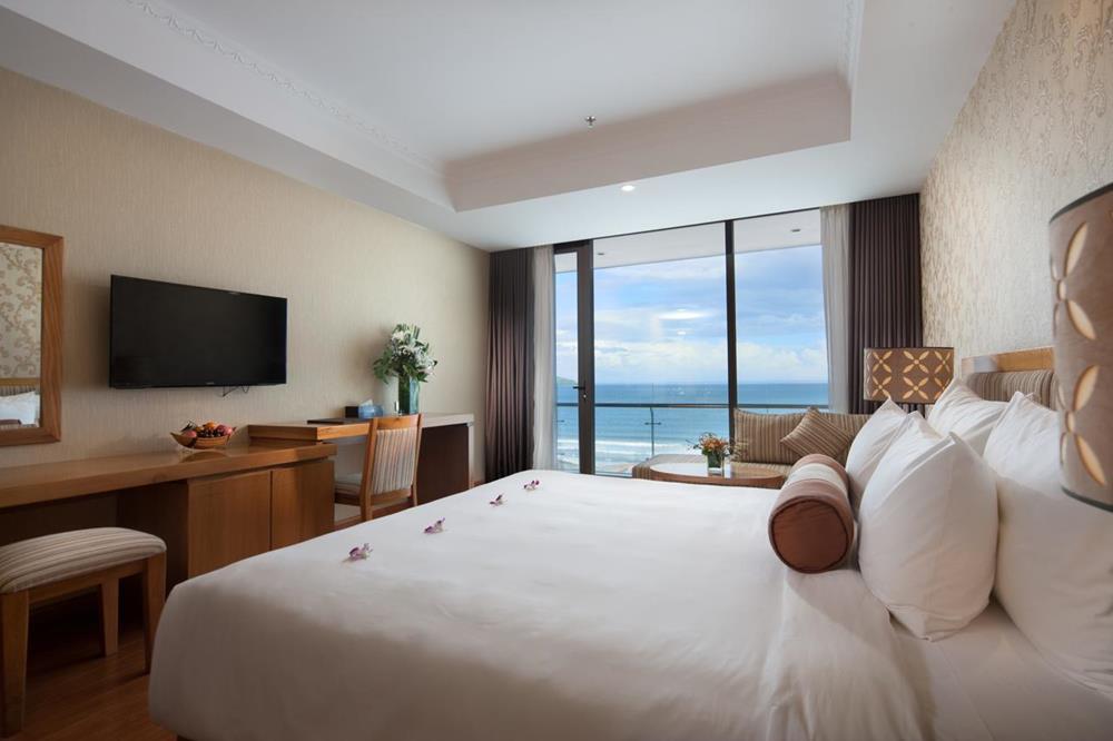 峴港-住宿-推薦-鑽石海飯店-雙人房