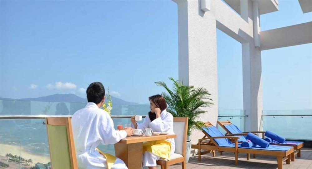 峴港-住宿-推薦-鑽石海飯店-頂樓
