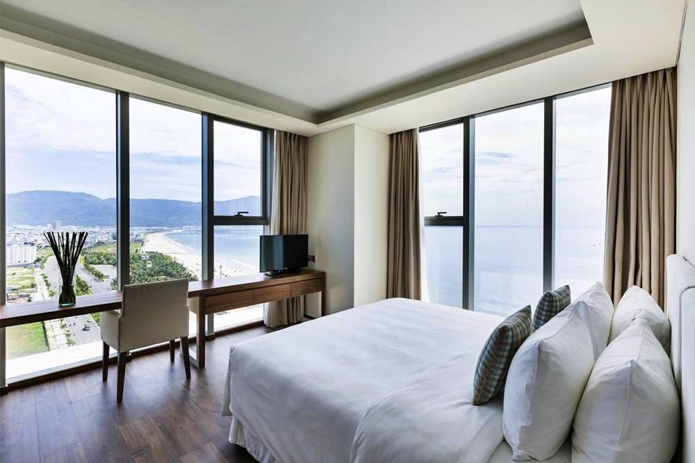 峴港-住宿-推薦-阿拉卡特海灘度假酒店-雙人海景房