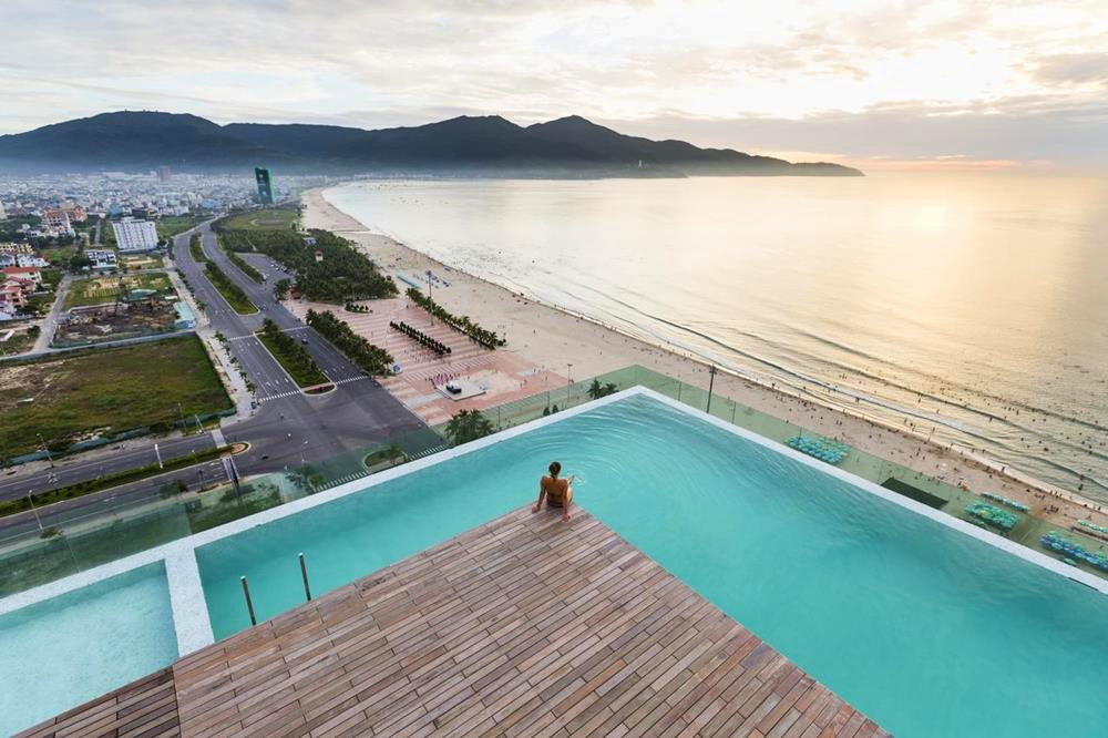 峴港-住宿-推薦-阿拉卡特海灘度假酒店-露天泳池