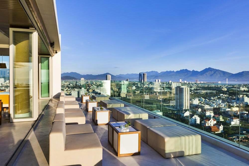 峴港-住宿-推薦-阿拉卡特海灘度假酒店-頂樓露台