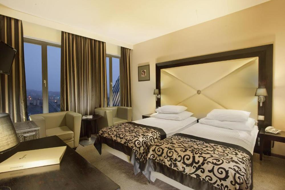 布拉格-住宿-格拉迪爾酒店-經典雙床房