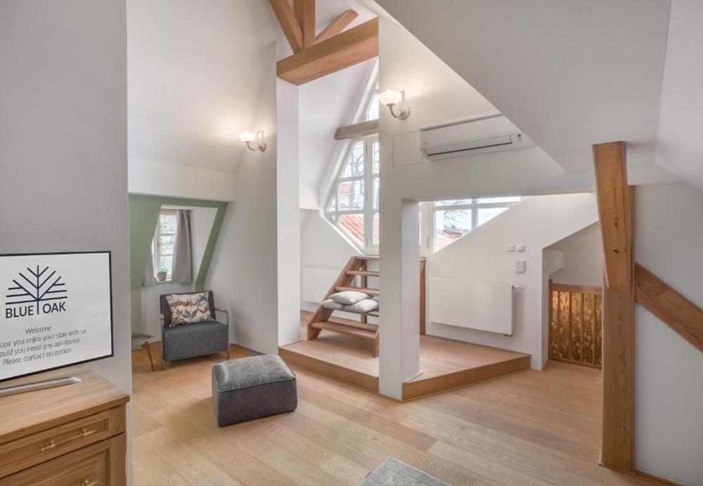 布拉格-住宿-藍橡木公寓-兩臥室複式公寓