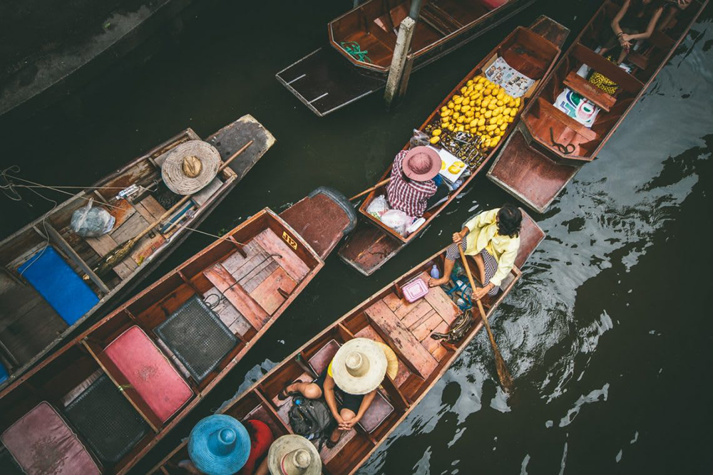 泰國-水上市場