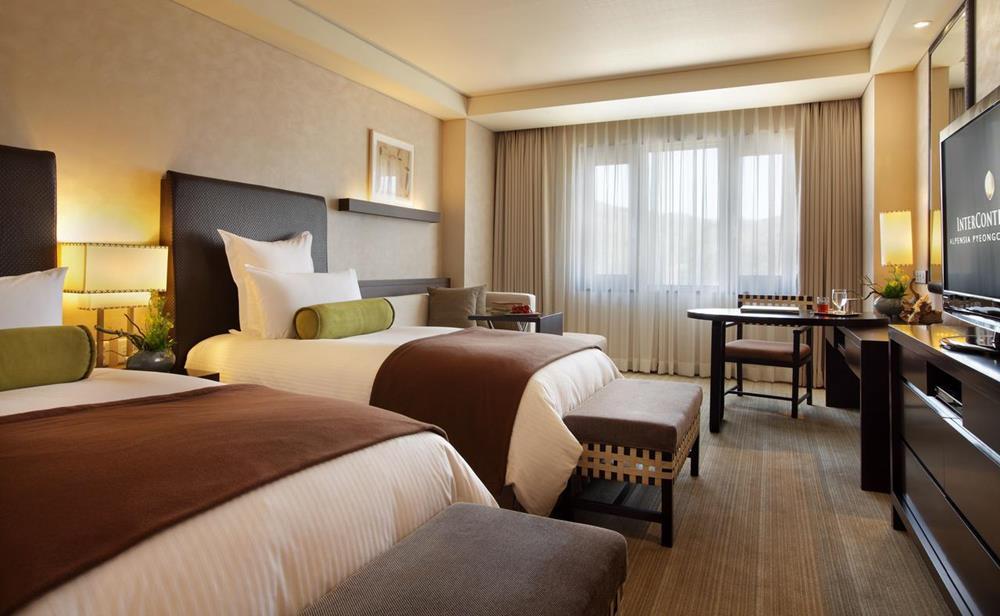 韓國-滑雪-度假村-住宿-洲際酒店阿爾卑斯平昌度假村-雙床房
