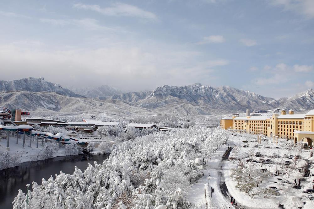 韓國-滑雪-度假村-住宿-雪嶽山索拉諾韓華度假村