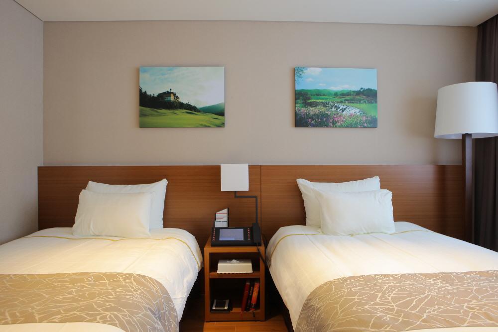 韓國-滑雪-度假村-住宿-龍之谷龍平度假村飯店-雙床房