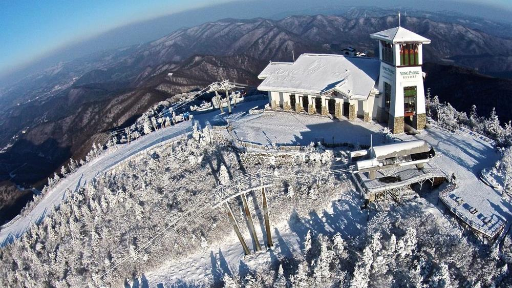 韓國-滑雪-度假村-住宿-龍之谷龍平度假村飯店