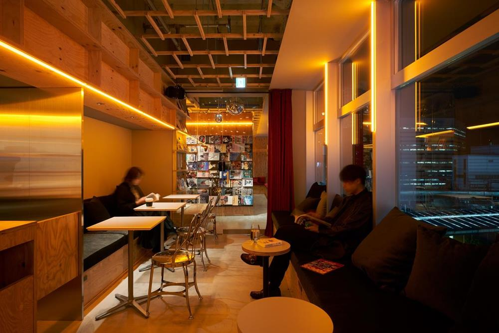 東京-特色-青年旅館-book-and-bed-tokyo-shinjuku-公共空間