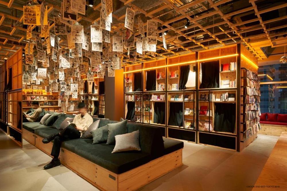 東京-特色-青年旅館-book-and-bed-tokyo-shinjuku-單人房