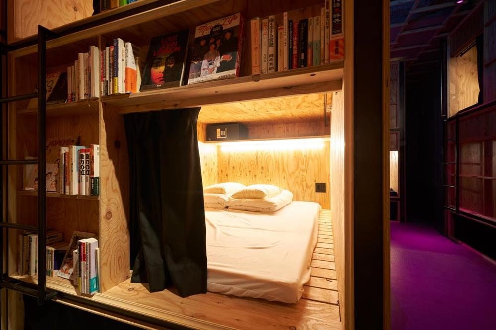 東京-特色-青年旅館-book-and-bed-tokyo-shinjuku-舒適單人房