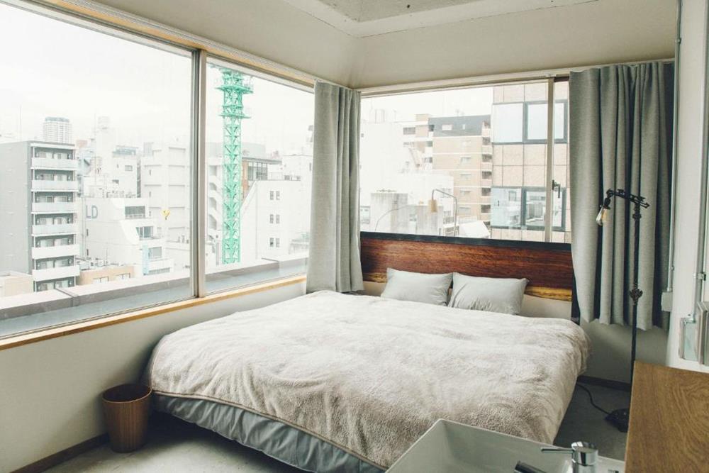 東京-特色-青年旅館-citan-hostel-高級特大雙人床房