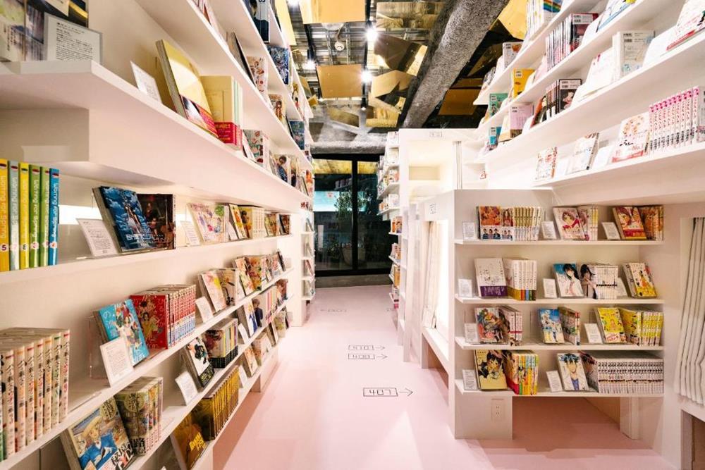東京-特色-青年旅館-manga-art-hotel-tokyo-宿舍房