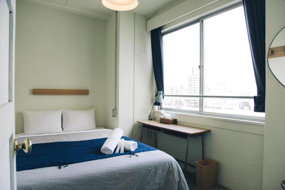 東京-特色-青年旅館-nui-hostel-河景雙人間