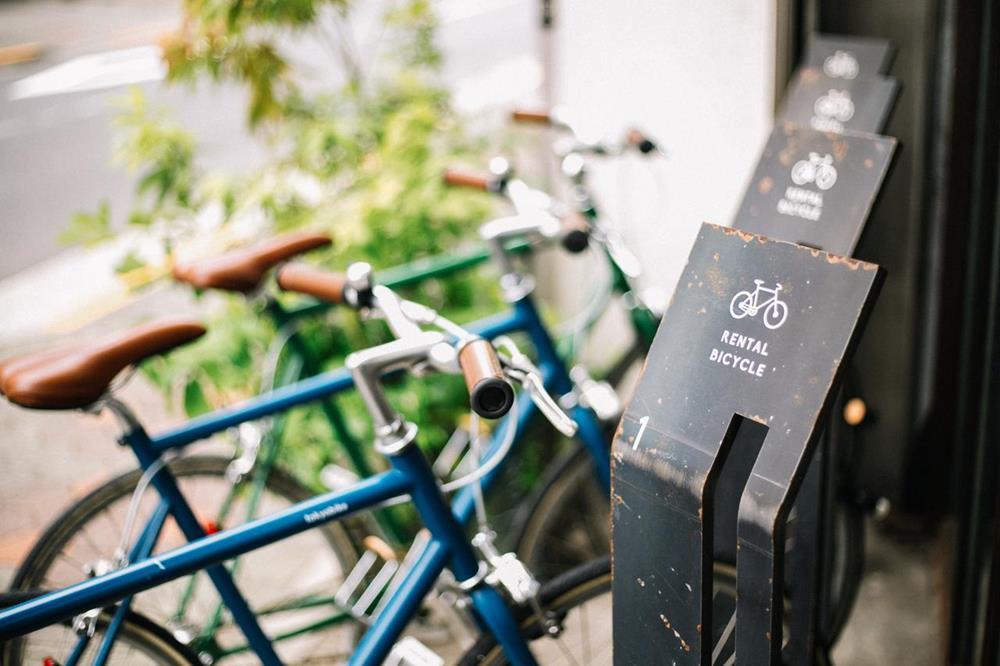 東京-特色-青年旅館-nui-hostel-腳踏車出租