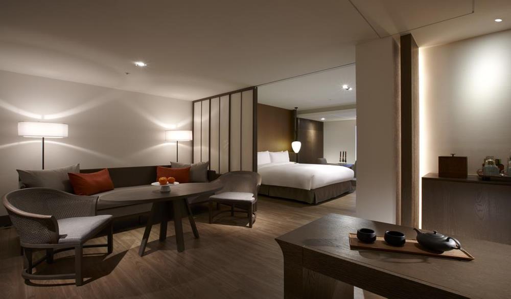 台南晶英酒店特大號床套房#1
