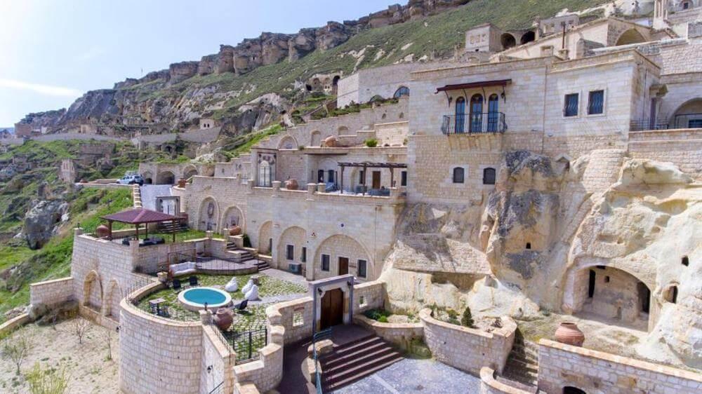 卡帕多奇亞飯店-卡亞卡皮高級帕多西亞洞窟酒店—耳古樸-家庭套房