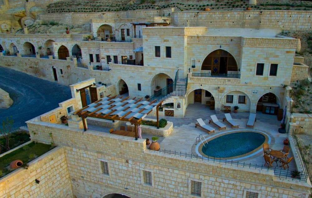 卡帕多奇亞飯店-卡亞卡皮高級帕多西亞洞窟酒店—耳古樸-Villa私人泳池